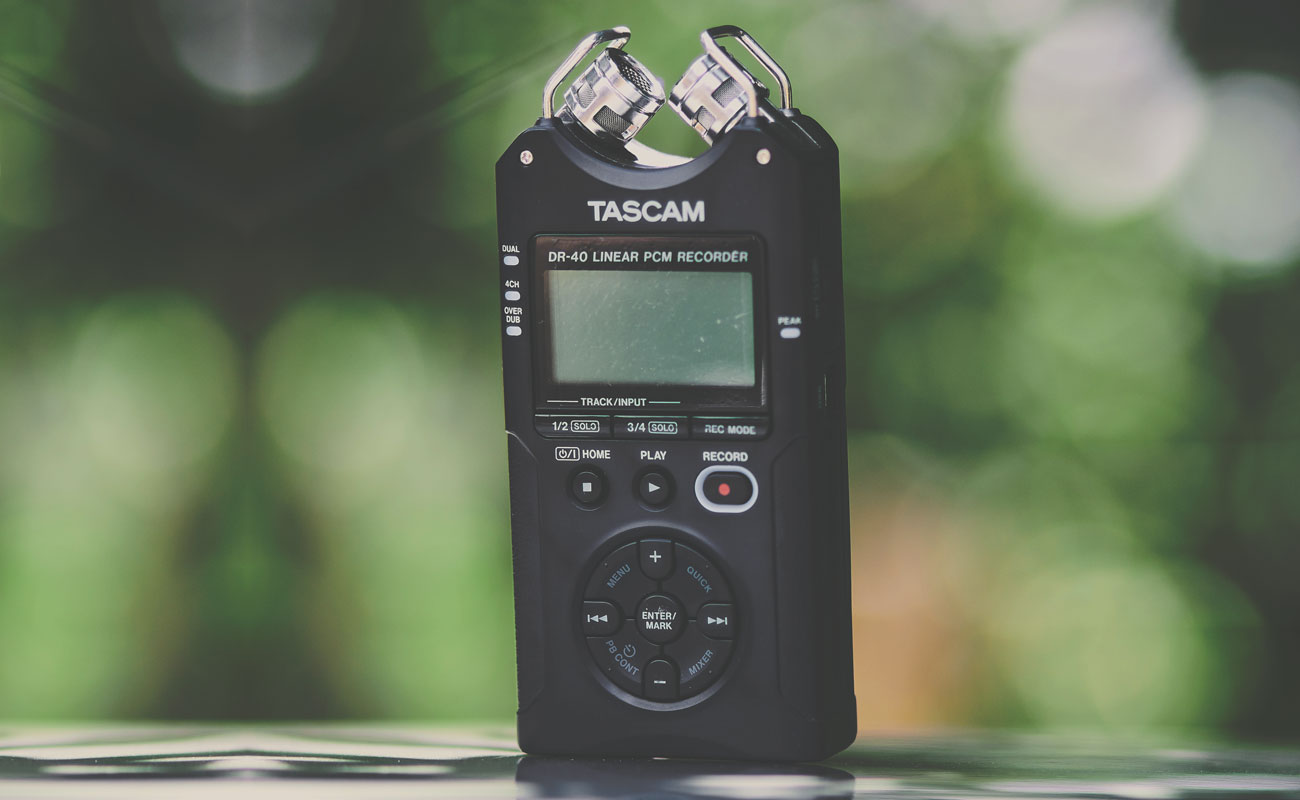 A microphone that could be used for church podcasts or ministry podcasting